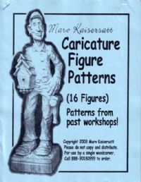 Caricature Figure Patterns #1