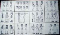 Caricature Figure Patterns #2