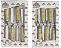 Stubai Special Wood Chisel Set-6pc