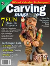 Carving Magazine Issue #31  FALL 2010
