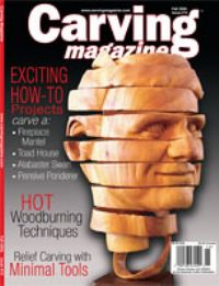 Carving Magazine Issue #15 FALL 2006