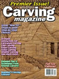 Carving Magazine Issue #01 PREMIER ISSUE