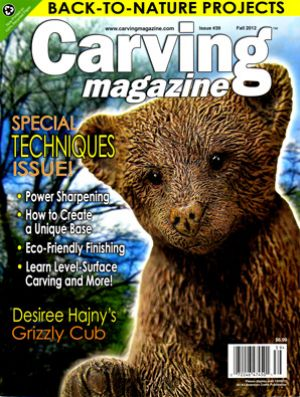 Carving Magazine Issue #39 FALL 2012