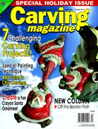 Carving Magazine Issue #40 Holiday 2012