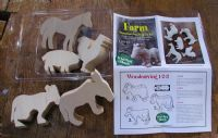 5-pc Farm Animal Carving Kit (991220)