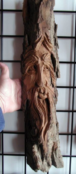 "Wood Spirit - 21"" (Hudson)"
