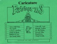 Caricature Figure Patterns #2