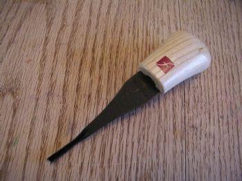 """#V-4mm (1/8"""") flexcut ... sharp V-tool"""