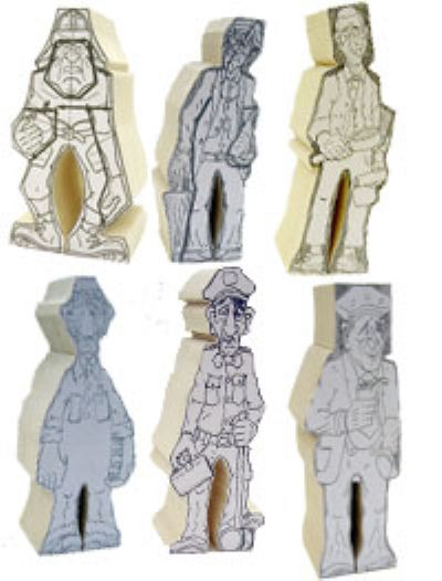 Marv Kaisersatt Design Cut Outs